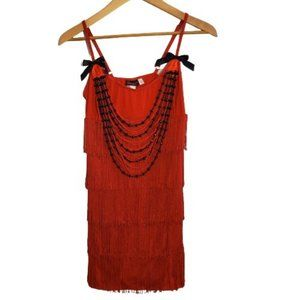 Dreamgirl Ruby Red Hot Flapper Costume Large